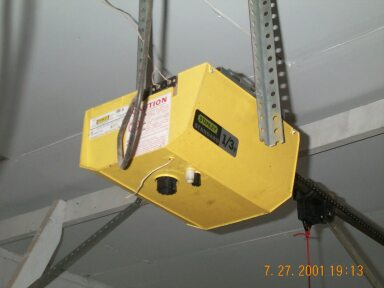 new garage door openerNew garage door opener installation